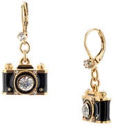 Betsey Johnson Camera Drop Earring