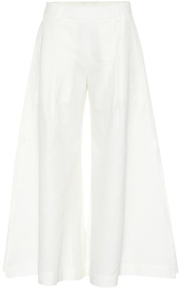 Cult Gaia Maia cotton and linen pants