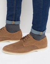 Dune Barrock Suede Lace Up Shoes