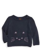 Tea Collection Fuwafuwa Sweater (Baby Girls)
