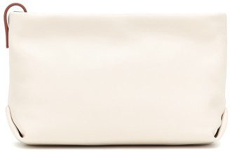 Loro Piana Inside Out leather clutch