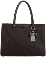 GUESS JQ668323BLA Ryann Double Handle Tote Bag