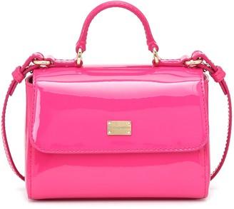 Dolce & Gabbana Kids Patent leather shoulder bag