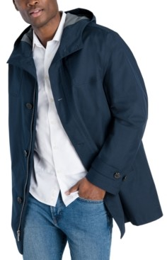 London Fog Men's Classic-Fit Stadium Raincoat
