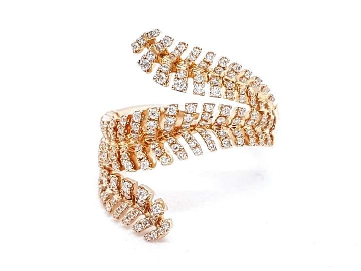 Djula Pink gold ring
