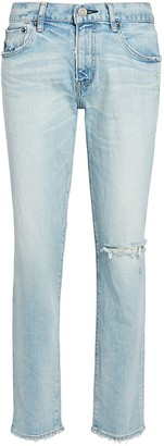 Moussy Vivian Distressed Skinny Jeans