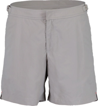 Orlebar Brown Bulldog Pewter Mid-Length Swim Shorts