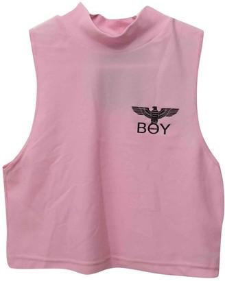 Boy London Pink Top for Women