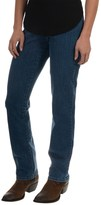 Specially made Narrow Leg Jeans - Slimming Waistband (For Women)