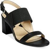 Adrienne Vittadini Panya Block Heeled Sandals