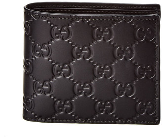 Gucci Signature Leather Coin Wallet