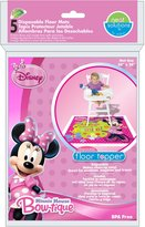 Disney Neat Solutions Disposable Floor Topper, Minnie Mouse
