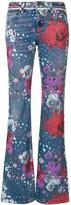 Roberto Cavalli Garden of Eden jeans - women - Cotton/Polyester/Spandex/Elastane - 42