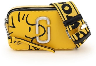 Marc Jacobs The Snapshot Small Camera Bag Peanuts X Collaboration