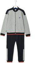 Armani Junior zip cardigan