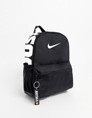 Nike black just do it mini backpack