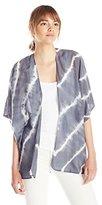 Velvet by Graham & Spencer Women's Tie Dye Silk Cotton Kimono