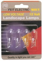 Feit Electric BPLV526-4 4 Count 7 Watt Low Voltage Landscape Light Bulbs