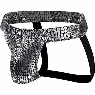 JOCKMAIL 2020 Super Sexy Mens Jock Strap Sexy PU Leather Mens Briefs Jockstrap for Men Underwear (M