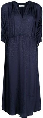 Masscob Floral-Print Midi Dress