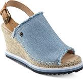 Tommy Hilfiger Yolanda Slingback Platform Wedge Sandals Women's Shoes