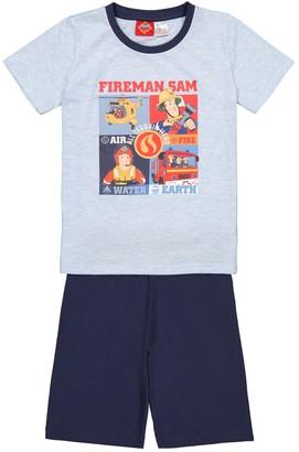 Fireman Sam Short Pyjamas in Cotton, 3-8 Years