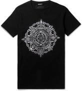Balmain - Slim-fit Printed Cotton-jersey T-shirt