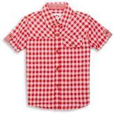 Appaman Toddler's, Little Boy's & Boy's Plaid Short Sleeve Shirt