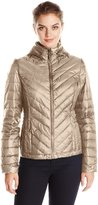 32Degrees Weatherproof Women's Chevron Packable Down Jacket