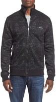 Bench Men's 'Separate' Print Zip Fleece Sweater