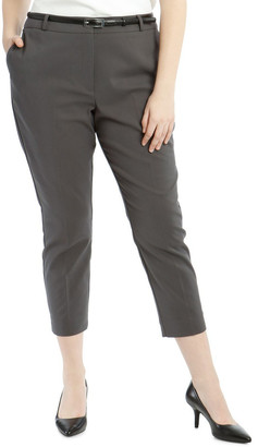 Chloé Tokito Curve Cropped Belted Pant