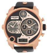 Diesel Men's Mr Daddy Leather Strap Watch