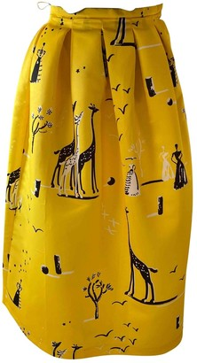 Rochas Yellow Skirt for Women