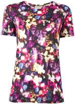 Nina Ricci blurred floral print T-shirt