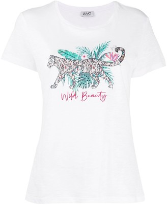 Liu Jo Wild Beauty short-sleeved T-shirt