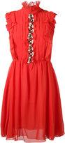 Giambattista Valli floral motif dress - women - Silk/Cotton/Polyester - 42
