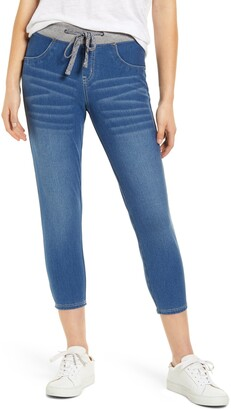 Hue Denim Capri Sweatpants