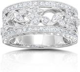 Kobelli Jewelry 0.25 CT TW Diamond 14K White Gold Ring Band