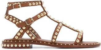 Ash studded leather gladiator sandals
