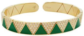 Alessa Yellow Gold and Diamond Elixir Bracelet