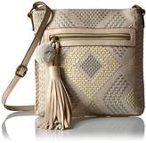 T-Shirt & Jeans Natural Instinct Cross Body with Pom