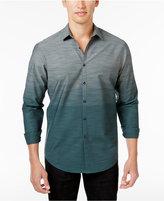 INC International Concepts Men's Ombré Cotton Shirt, Created for Macy's