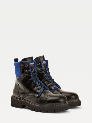 Tommy Hilfiger Pop Colour Lace Up Ankle Boots