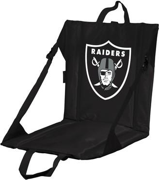 Logo Brands Oakland Raiders Folding Stadium Seat