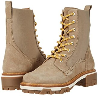 Rag & Bone Shiloh Combat Boot (Light Sand) Women's Shoes
