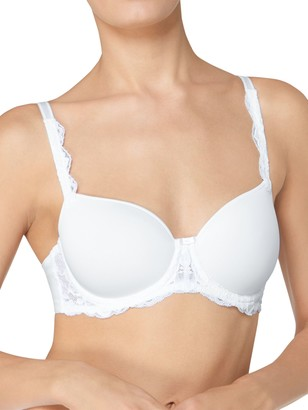 Triumph Amourette Charm Spacer Cup Padded Bra, White