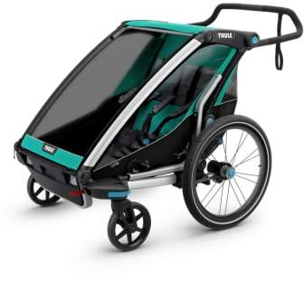 Infant Thule Chariot Lite 2 Multisport Double Cycle Trailer/stroller