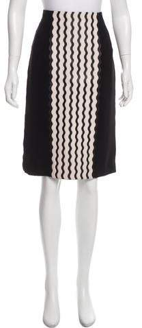 Knee-Length Pencil Skirt