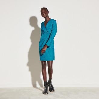 Sandro Short dress in double S jacquard