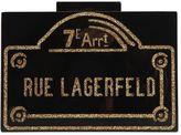 Karl Lagerfeld Rue Lagerfeld Pvc Box Clutch